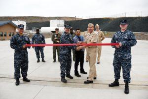 Naval Fuel Facility Ribbon Cutting